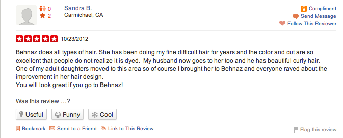 fine difficult hair looks great behnaz yelp