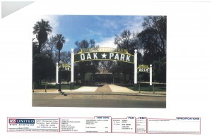Oak Park Arch Proposed